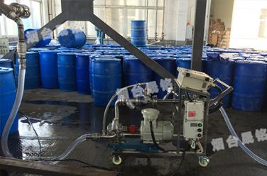 盐酸灌装案例:江苏溴素系列自动计量分装