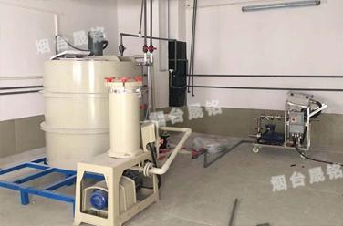 盐酸灌装案例:化学镀镍剂脱模剂定量分装设备