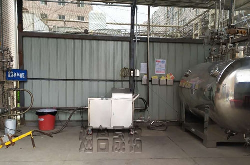 冰醋酸分装案例:江苏冰醋酸定量分装大桶设备
