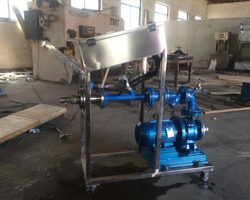 乙醇灌装25kg塑料桶设备