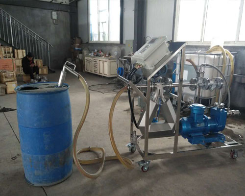 润滑油灌装大桶定量计量设备