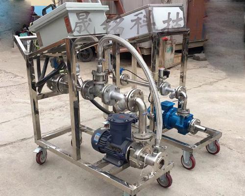 定量灌装槽车自动计量控制系统
