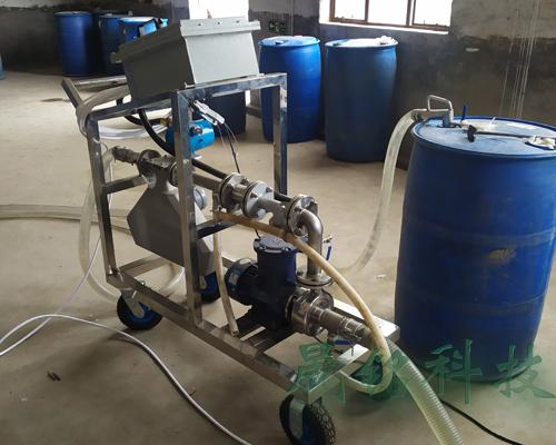 化工助剂定量灌装大桶设备