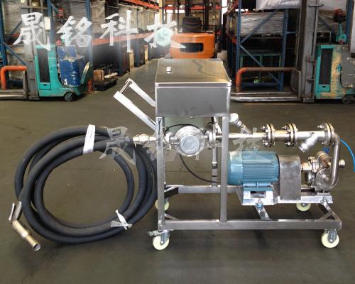 槽车卸料自动分装桶计量设备