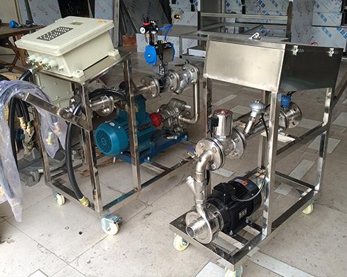 化工液体定量灌装大桶设备