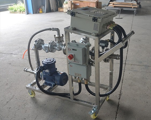 防爆型化工液体定量分装大桶