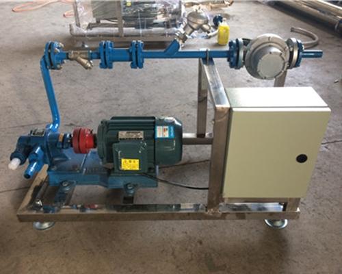 增塑剂定量装桶设备