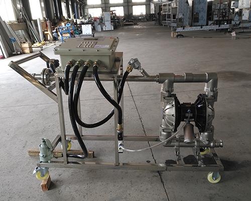 气动泵液体定量灌装