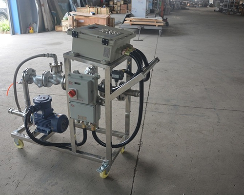 硝酸自动灌装