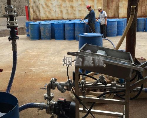 润滑油定量分装大桶机