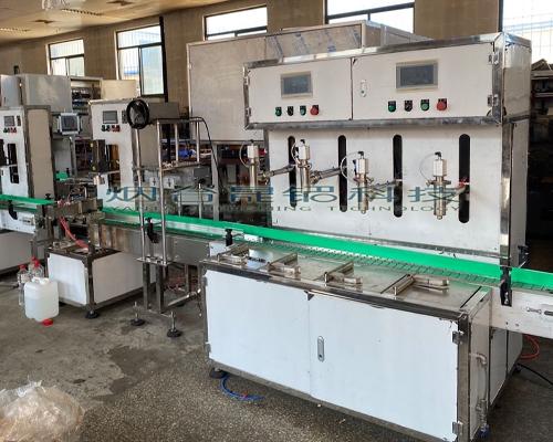 潍坊全自动液体定量灌装生产线