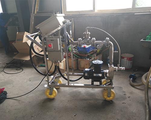 硫酸自动灌装